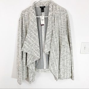 NWT Lane Bryant Outlet Open Cardigan 26/28